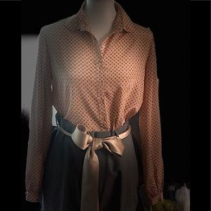 HALSTON vintage, Silky and chic  70's  blouse 😍